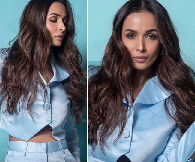 Malaika Arora is giving us summer outfit goals in white ruffled crop top and ripped jeans | See Pics