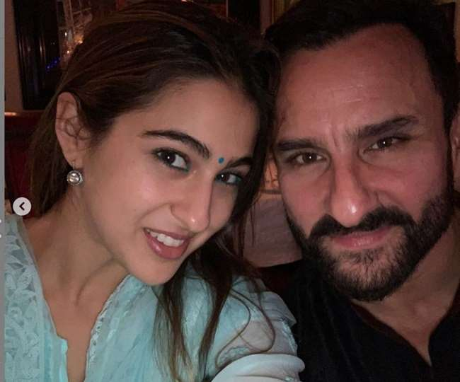 Sara Ali Khan showers love on dad Saif Ali Khan in THIS quirky way | See Photo