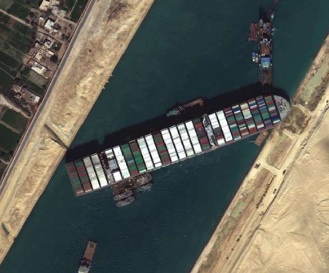 Suez Canal Blockage: Stranded cargo ship stuck for 6 days re-floats again | Watch