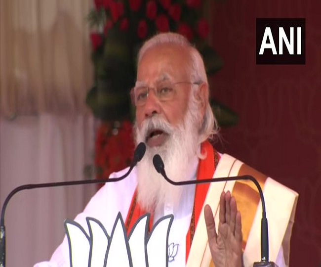Kerala Polls 2021 | 'Like Judas betrayed Jesus Christ...': PM Modi tears into Pinarayi Vijayan govt