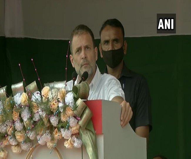 Assembly Elections 2021: 5 lakh jobs, 200 units free electricity among 5 big promises by Rahul Gandhi in Assam   Highlights