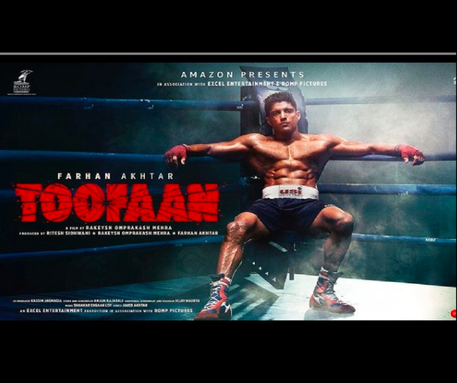 Toofaan Teaser out: Farhan Akhtar, Mrunal Thakur-starrer sports drama will keep you on the edge of your seat   Watch