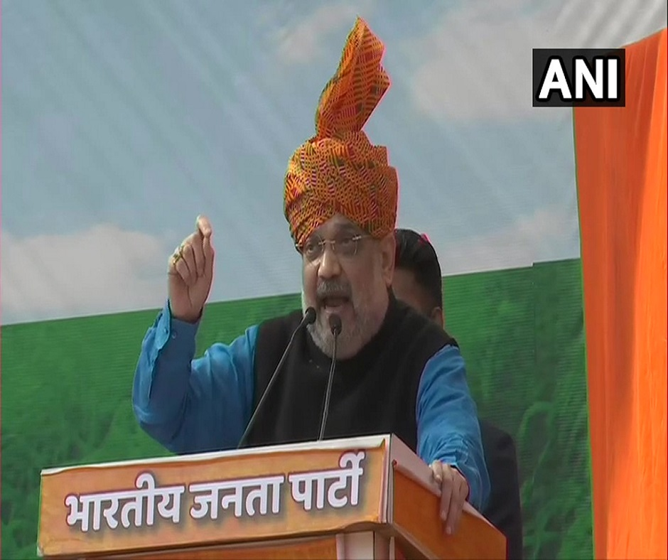 Assam Polls   'Infiltration will increase': Amit Shah attacks Congress over alliance with AIUDF