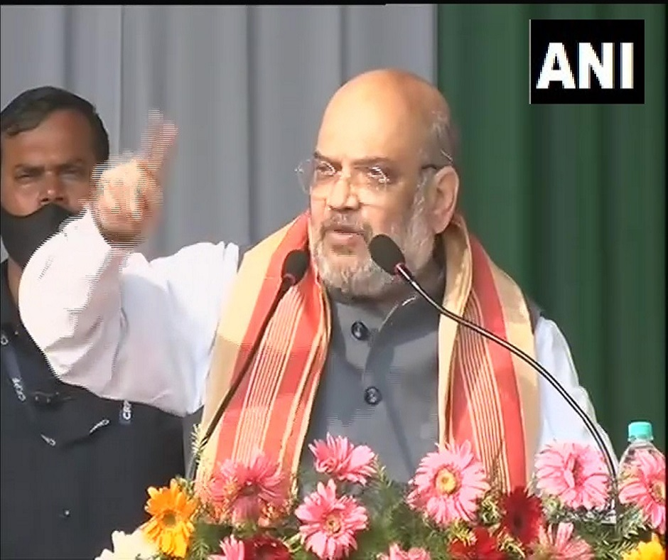 In poll-bound Assam, Amit Shah says Rahul Gandhi 'allying with outfits that wish to divide India'