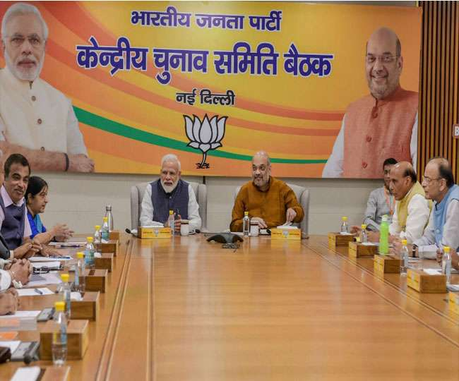 Assembly Elections 2021: Amit Shah, JP Nadda attend BJP CEC meet to finalise candidates for TN, Kerala, Assam polls