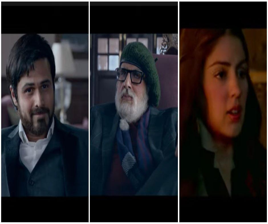 'Chehre' Trailer: Rhea Chakraborty FINALLY appears in Amitabh Bachchan and Emran Hashmi's onscreen creepy game