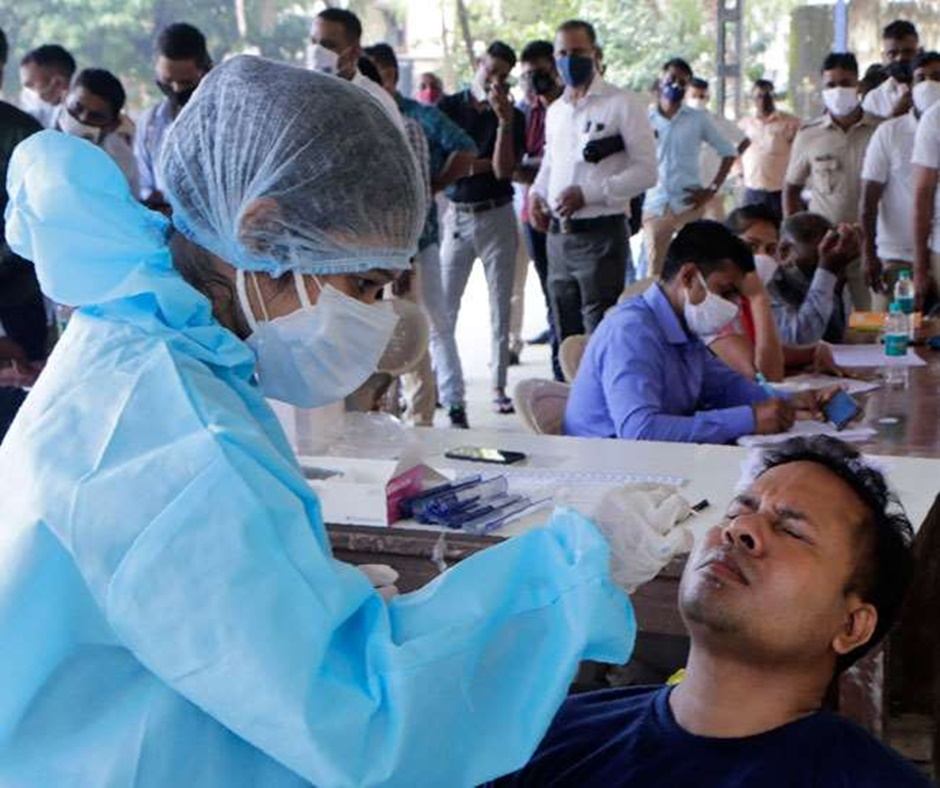 Dip in daily cases as India records 40,715 infections in a day; active caseload rises to 3.45 lakh