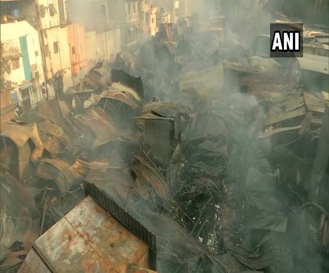 500 shops gutted in massive fire at Pune's fashion street market, no casualties reported; cooling operations underway