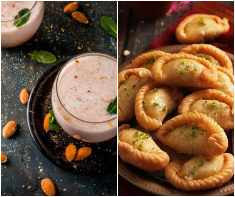 Holi 2021: From baked gujiyas to low-calorie thandai; 6 healthy and lip-smacking snacks you must try