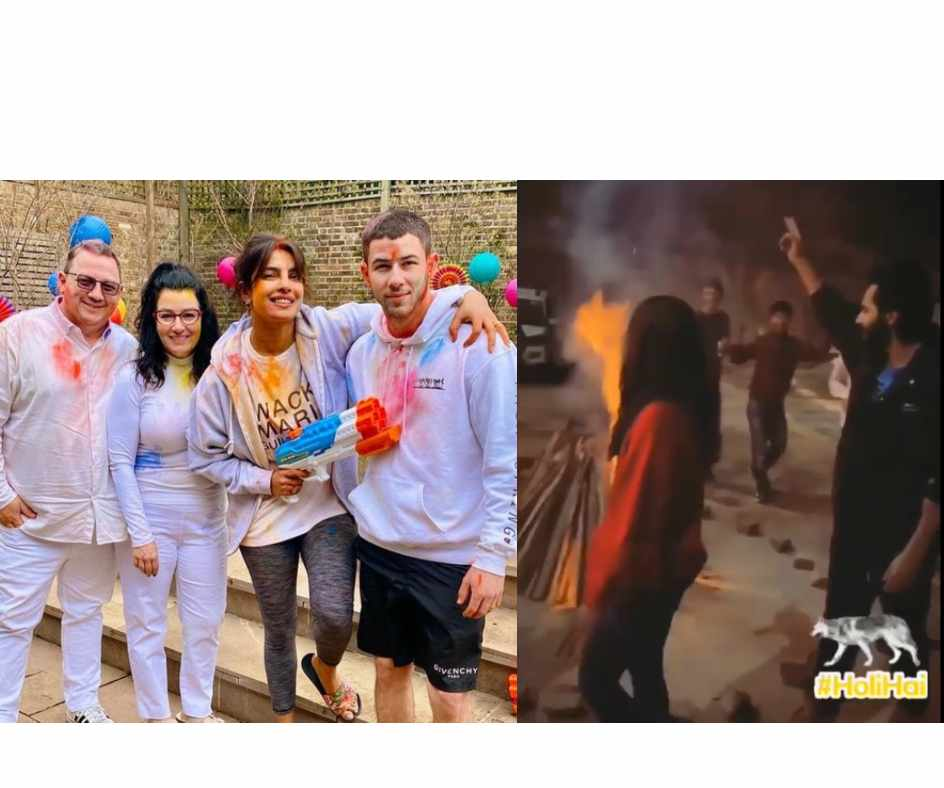Holi 2021: From Priyanka Chopra, Nick Jonas to Varun Dhawan, Kriti Sanon, how B-Town celebs celebrated the festival of colours