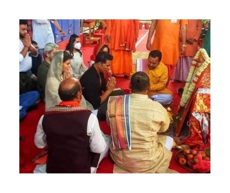 Ram Setu: Akshay Kumar and Jacqueline Fernandez's event cancelled in Ayodhya due to heavy crowd