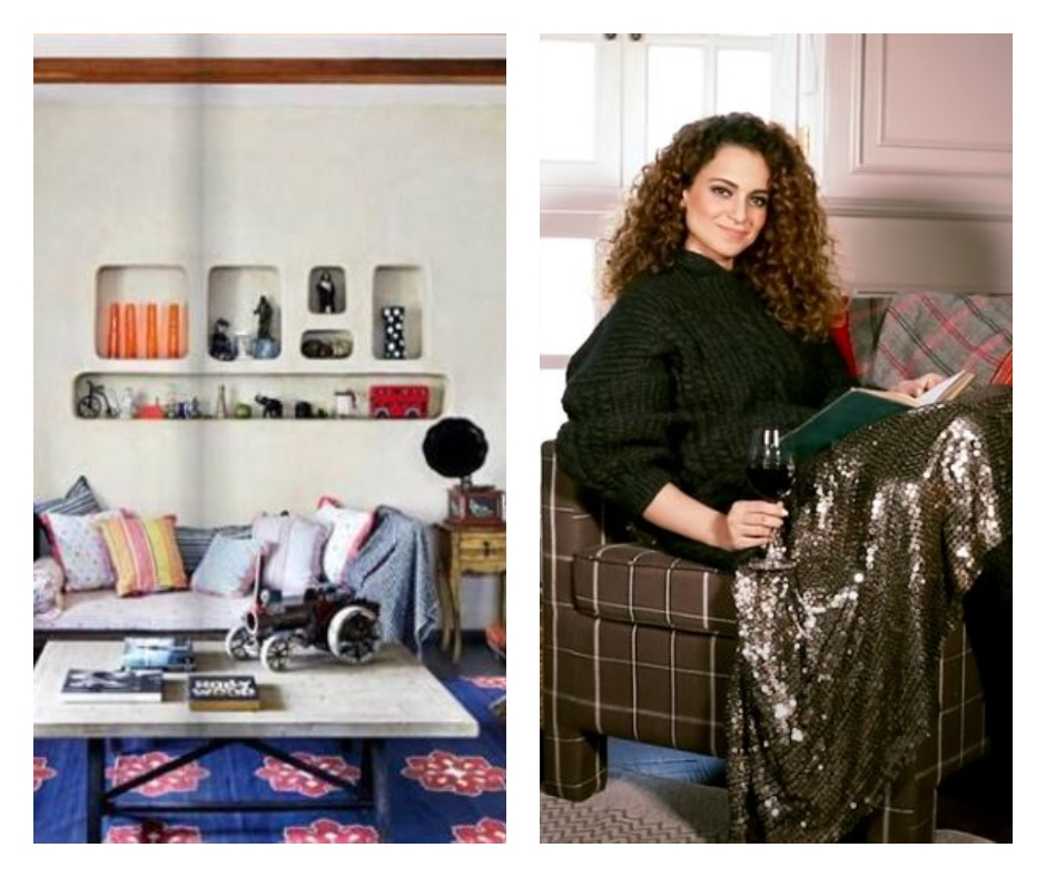 Happy Birthday Kangana Ranaut: Take a tour of 'Queen' actress's beautiful houses which will leave you awestruck