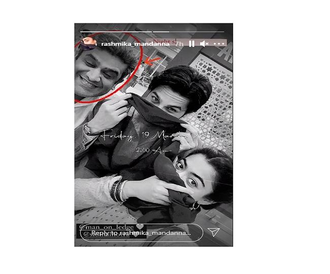'Night shoots got us like...': Rashmika Mandanna gives sneak-peek into Mission Majnu's midnight shoot with Sidharth Malhotra