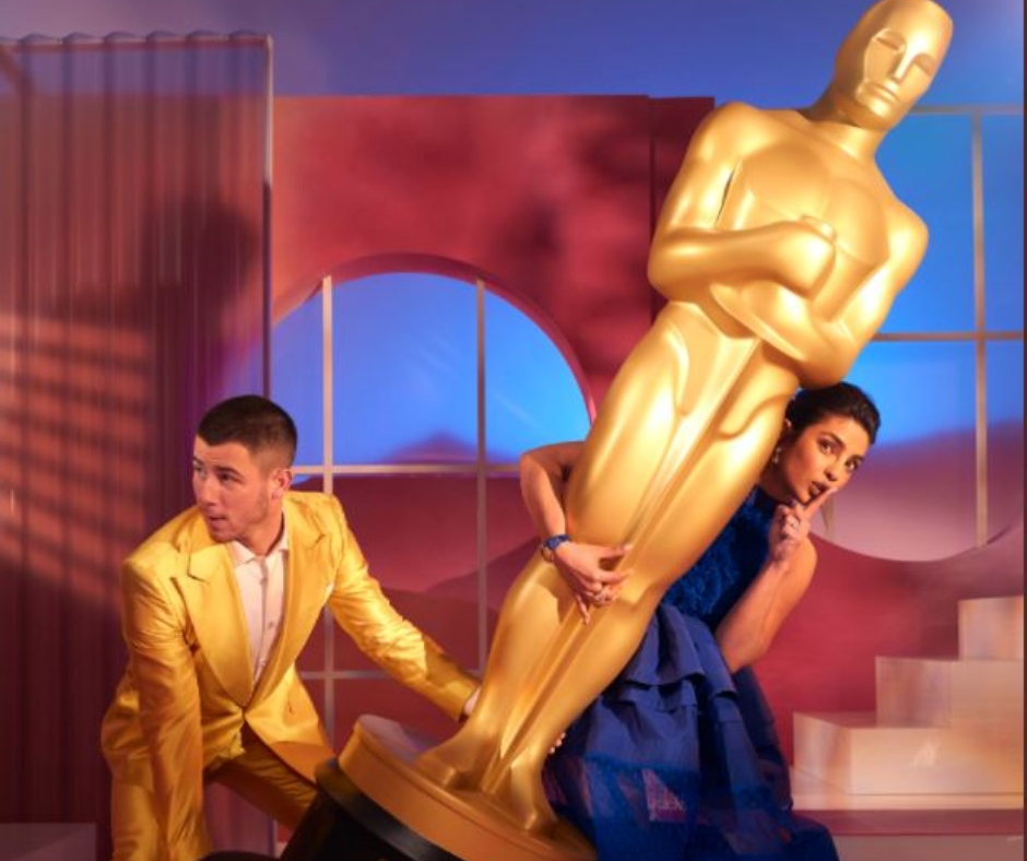 Priyanka Chopra and Nick Jonas announce Oscar nominations 2021; Tweet and share pics on social media