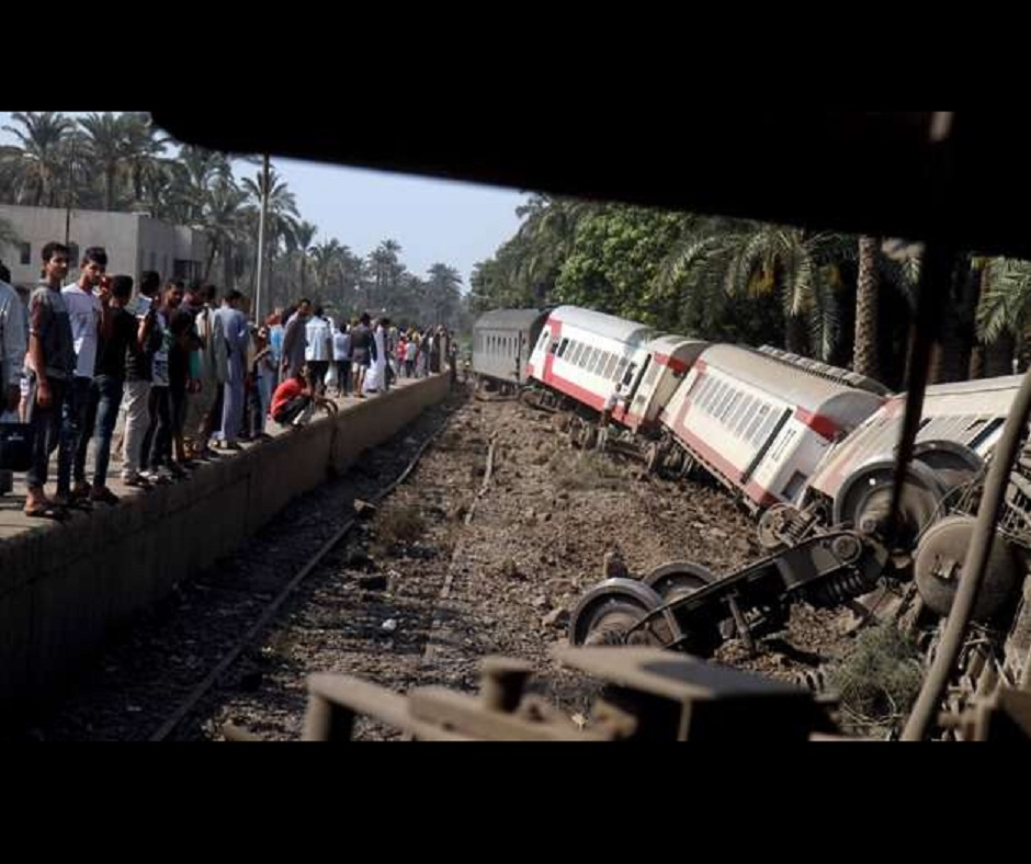 32 killed, over 80 injured as two passenger trains collide in Egypt's Sohag