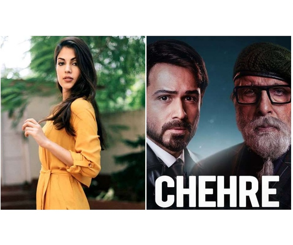 'We have decided...': Ahead of Chehre trailer release, producer spills the beans on Rhea Chakraborty's absence
