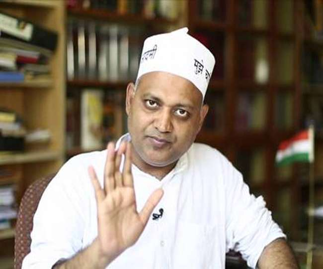 AAP MLA Somnath Bharti jailed for 2 years for assaulting AIIMS security staff in 2016, taken into custody