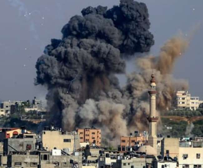 Israel-Palestine Conflict: Day after PM Netanyahu's warning, Israel bombs Hamas Gaza chief's house