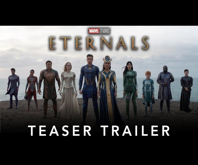 Eternals Teaser: Angelina Jolie, Salma Hayek woo fans in this Chloe Zhao's superhero spectacle | Watch