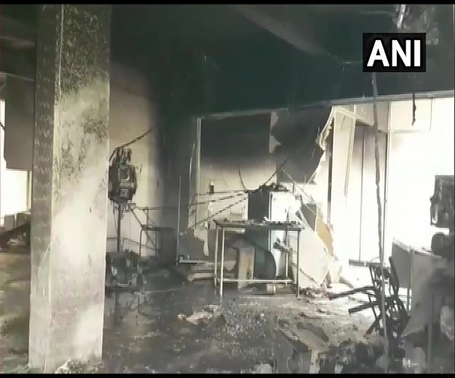 18 including 16 COVID-19 patients die in a fire at hospital in Bharuch; govt announces Rs 4 lakh ex-gratia
