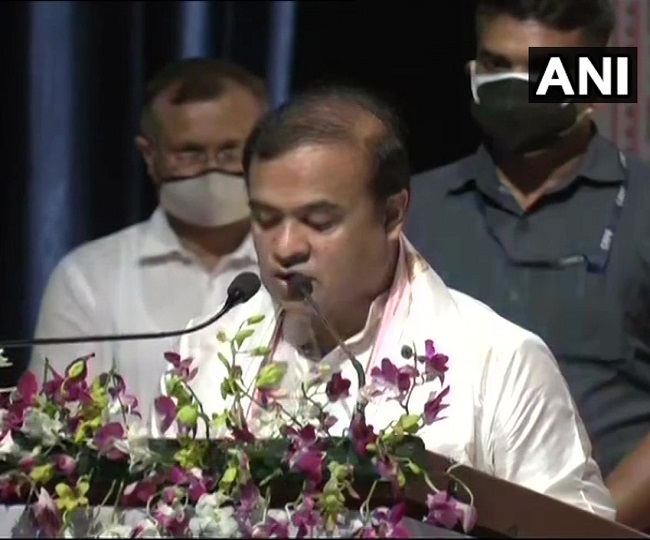 Days after BJP's astounding victory, Himanta Biswa Sarma sworn-in as chief minister of Assam