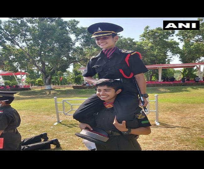 Nitika Kaul, wife of Major Dhoundiyal, joins Army 2 years after losing husband in Pulwama gunbattle   WATCH