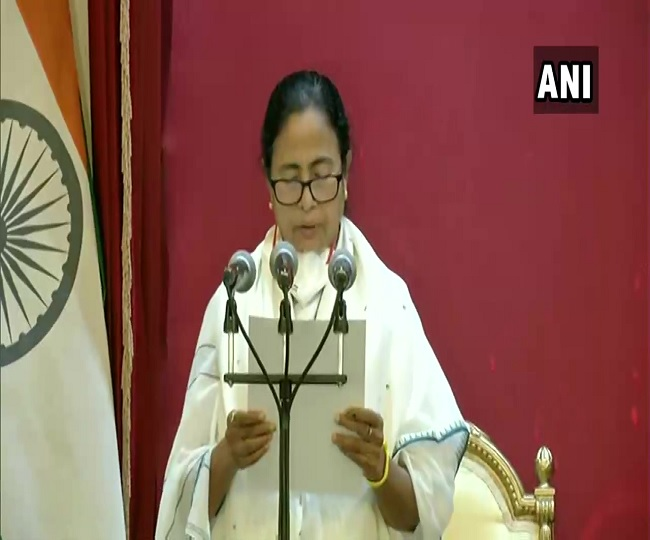 Mamata Banerjee takes oath as WB CM for 3rd time after spearheading TMC's landslide victory in Assembly elections
