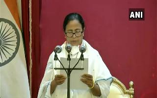 Mamata Banerjee takes oath as WB CM for 3rd time after spearheading TMC's..