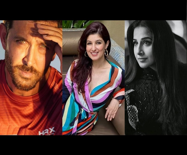 'Going Beyond': Here's why Twinkle Khanna gives a shoutout to her neighbours Hrithik Roshan and Vidya Balan