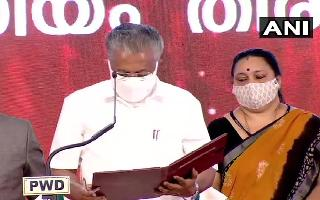 Days after LDF's thumping win, Pinarayi Vijayan sworn-in as chief minister of Kerala for 2nd time