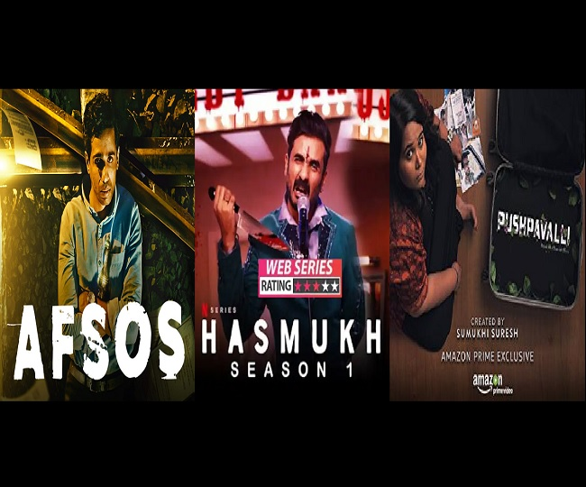 From Afsos to Hasmukh to Pushpavalli, binge-watch these 5 web series written by Indian stand-up comedians