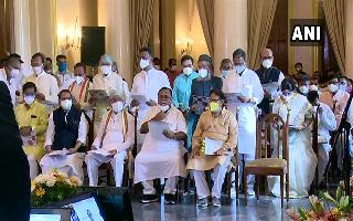 Amit Mitra, Manoj Tiwary among 43 TMC leaders sworn-in as West Bengal ministers