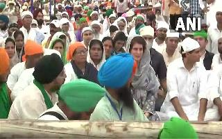 Lakhimpur Kheri Row: Priyanka Gandhi attends antim ardaas of farmers..