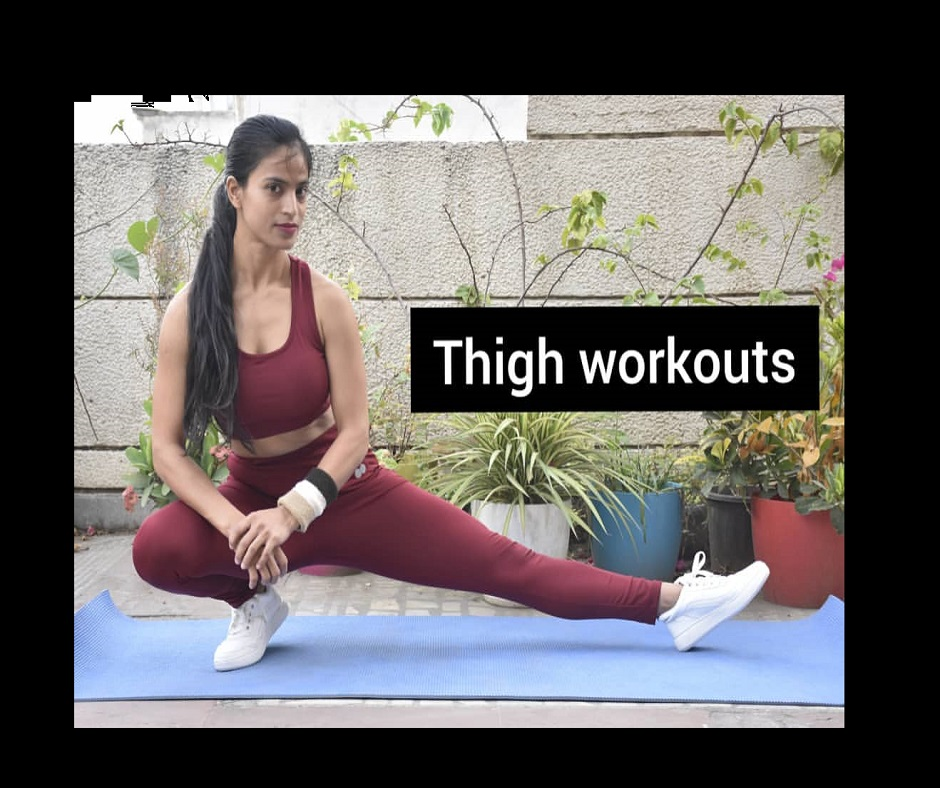 Want to tone your thighs? Do these 5 effective 10-minute daily thigh workouts at home