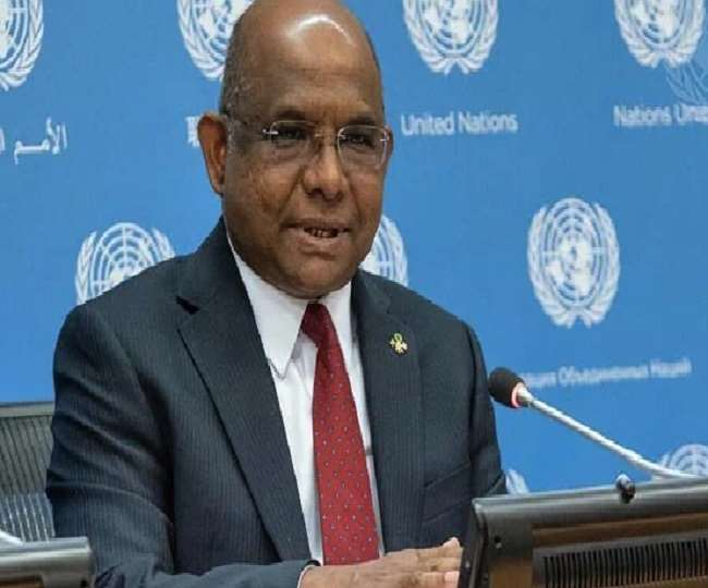 Abdulla Shahid, president of 76th UN General Assembly, says he was administered with Covishield COVID-19 vaccine
