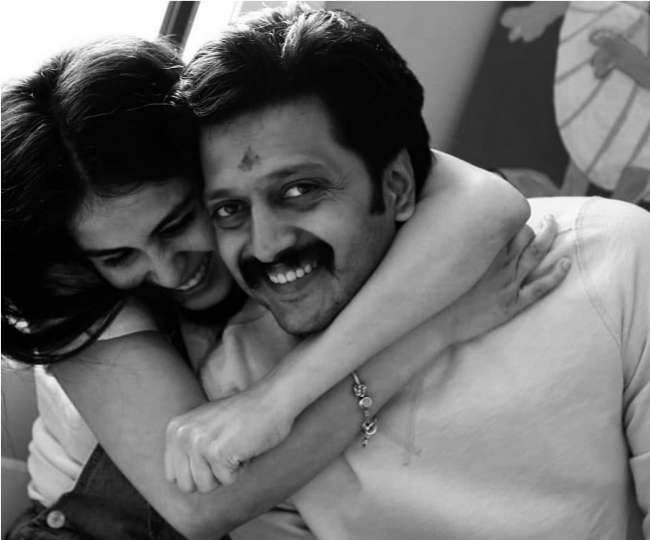 This is how Riteish Deshmukh responded to troll who called Genelia D'Souza 'Vulgar'   Watch video
