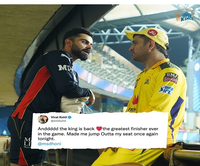 IPL 2021 Qualifier 1: MS Dhoni 'finishes off in style' again to help CSK beat DC; elated netizens say 'the saga continues'