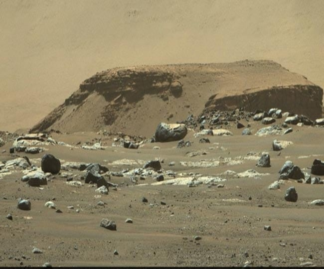 NASA's Perseverance Rover images show 'tantalizing hints' about existence of water on Mars