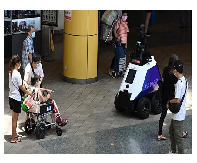 Robots to patrol Singapore streets to detect 'Undesirable Social Behaviour'