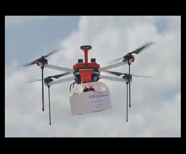 In a first in South Asia, 'Made in India' drone delivers COVID-19 vaccines in Manipur's Karang island