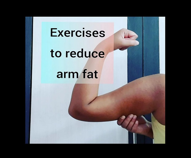 How to lose arm fat? 5 easy and effective exercises to get your arms back in shape