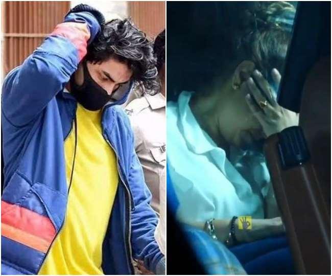 Gauri Khan breaks down in tears after son Aryan Khan's bail gets rejected   Watch viral video here