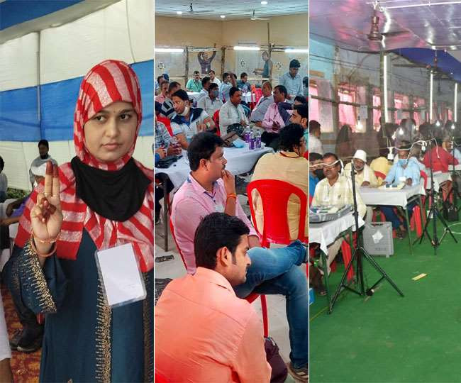Bihar Panchayat Polls Results 2021: Rekha Devi grabs Jamui seat; cops lathicharge in Muzaffarpur   Highlights