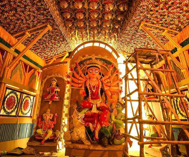 Happy Durga Puja 2021: Wishes, messages, quotes SMSes, WhatsApp and Facebook statuses to share on this day