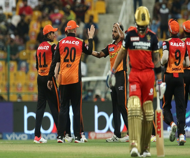 IPL 2021, RCB vs SRH: Hyderabad clinch thriller to dent Bangalore's hopes of top-two finish