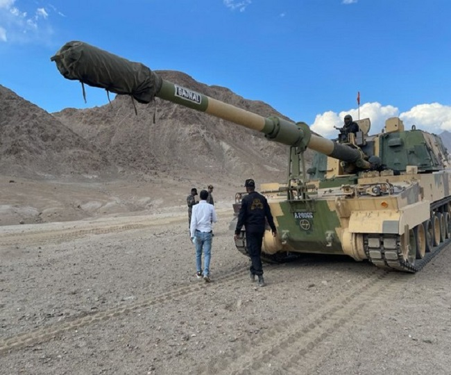 Jagran Explainer: Indian Army deploys K-9 Vajra self-propelled howitzers in Ladakh; know all about it   WATCH