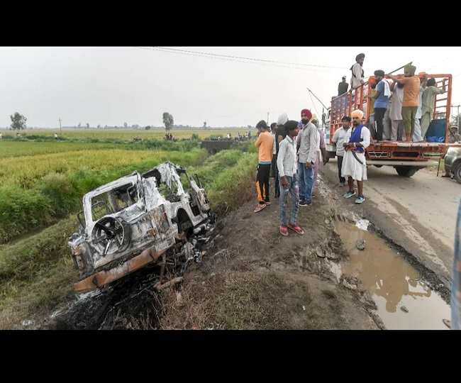 Lakhimpur Kheri Violence: 2 arrested by UP Police, empty bullet shells recovered