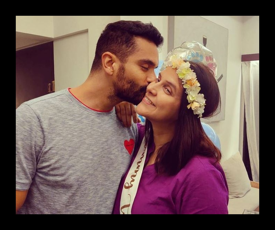 Actors Neha Dhupia and Angad Bedi blessed with a baby boy