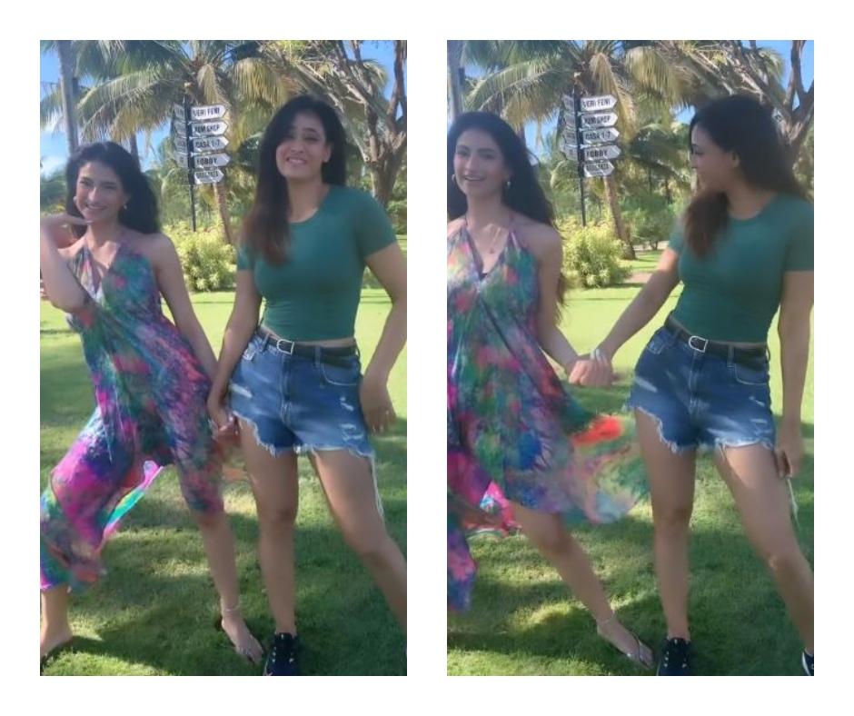 Shweta Tiwari celebrates daughter Palak's birthday in Goa; shares cute video while dancing in park | Watch