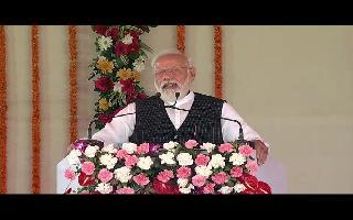 In Varanasi, PM Modi launches Ayushman Bharat Health Infrastructure..